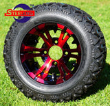 "10"" VAMPIRE - RED/BLACK - WHEELS"