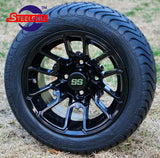 "12"" LIZARD - BLACK - WHEELS"