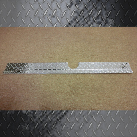CLUB CAR PRECEDENT ALUMINUM DIAMOND KICK PLATE