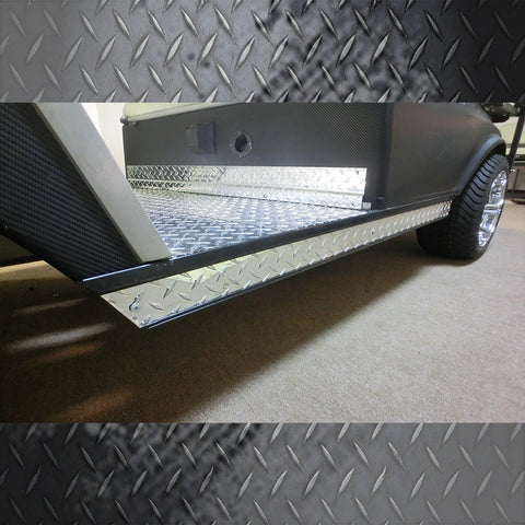 CLUB CAR DS ALUMINUM DIAMOND ROCKER PANELS