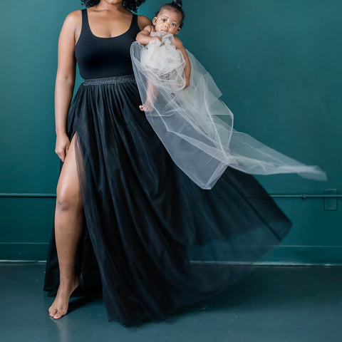 First birthday mommy and me luxe matching tulle skirts