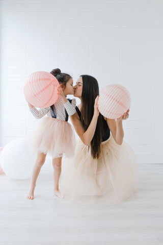 Bright and airy mommy and me photo shoot