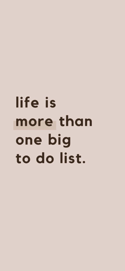 Life is more than