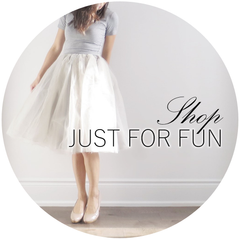 Shop just for fun BLUISH tulle skirt tutu