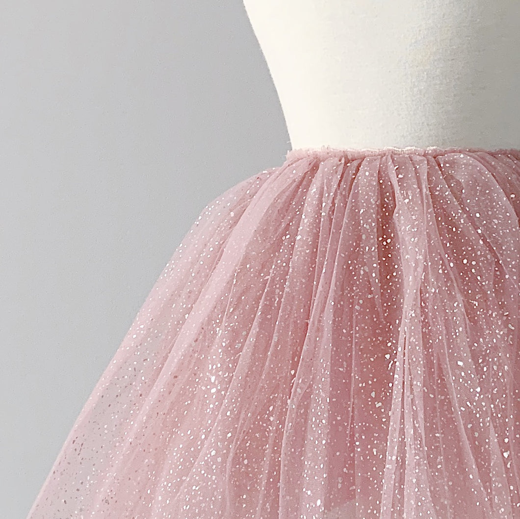 Snap-On Tutu - Sparkle Rose