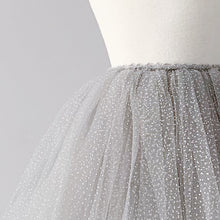 Load image into Gallery viewer, Snap-On Tutu - Sparkle Grey