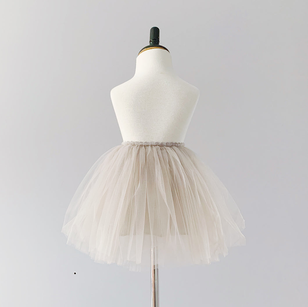 Snap-On Tutu - Grey
