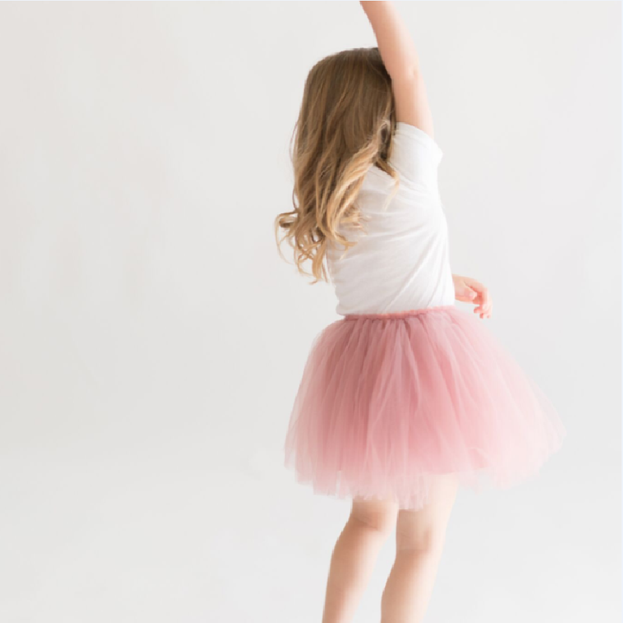 Snap-On Tutu - Rose