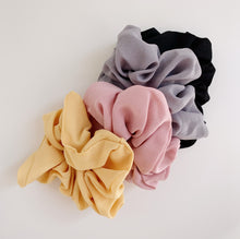 Load image into Gallery viewer, Charlie Scrunchie - Black