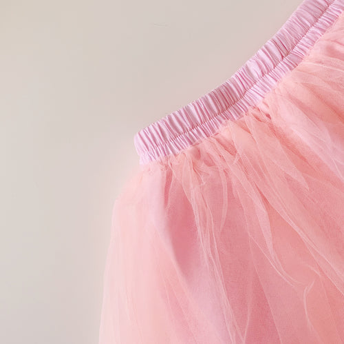 Classic Tulle Skirt in Bright Pink