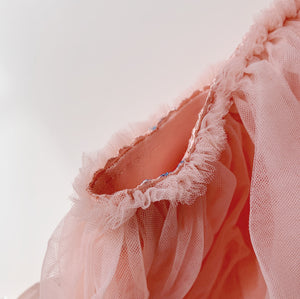 Baby Tutu in Coral Pink