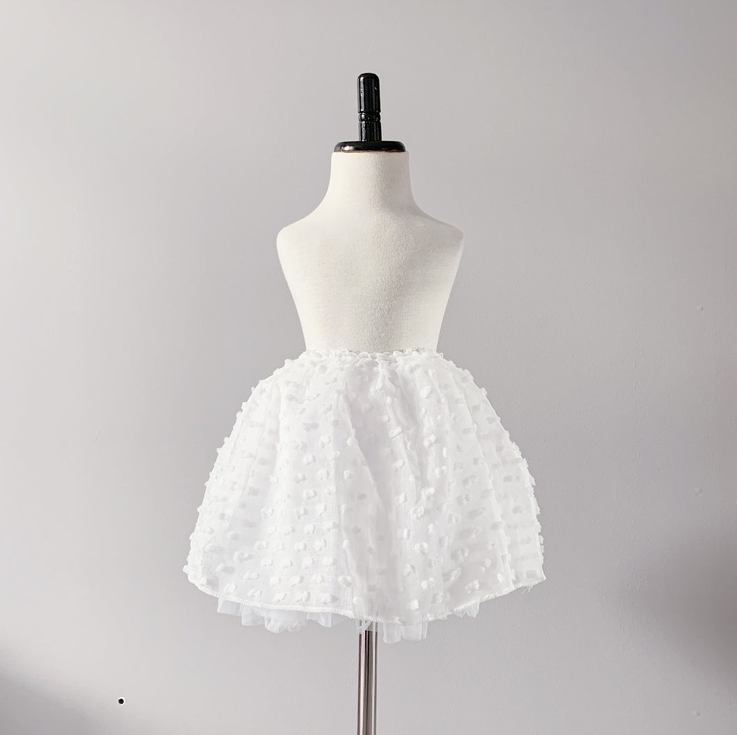 Baby Teddy Tutu - White