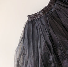 Load image into Gallery viewer, Full Tulle Skirt - Black