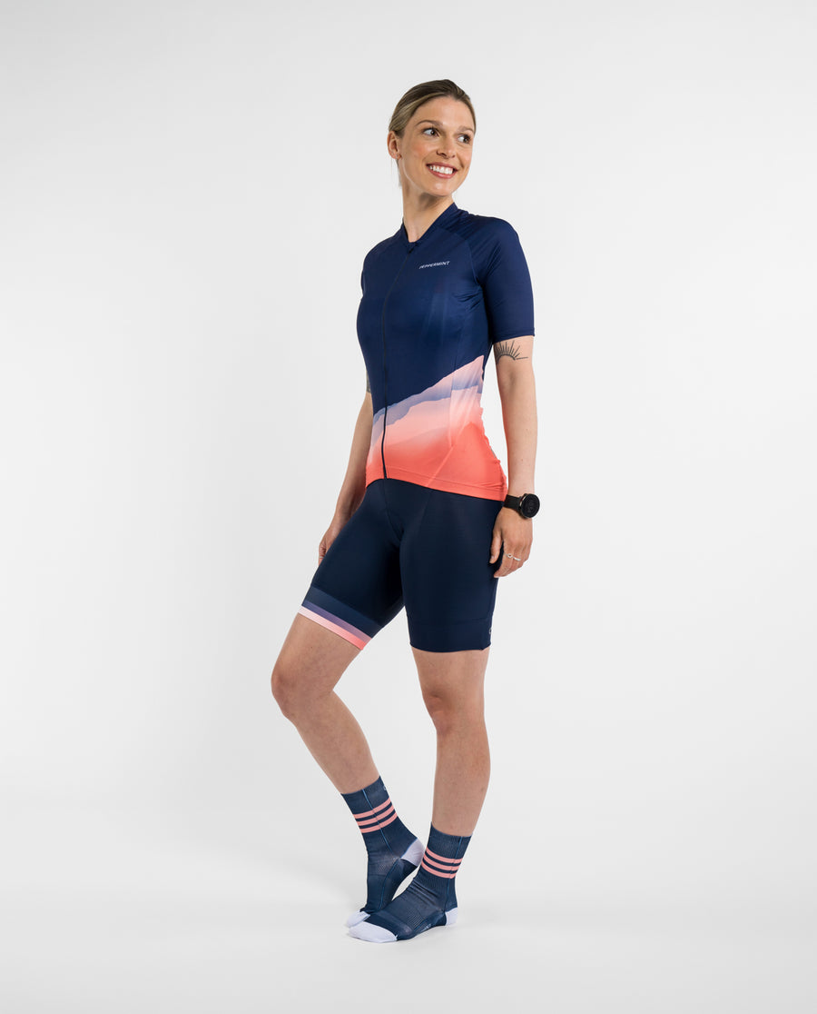 Sunset Navy Breeze Jersey