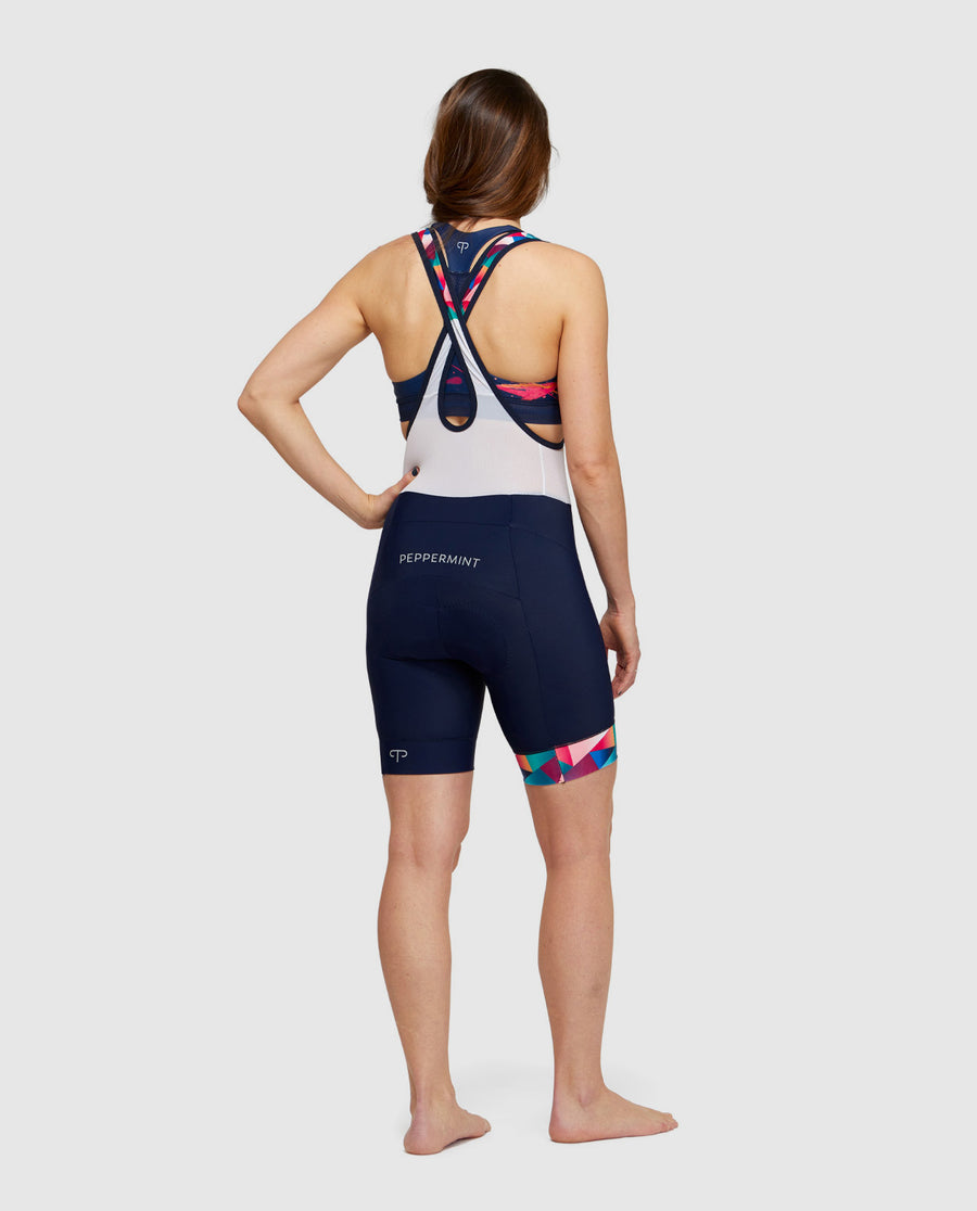 Navy Signature Bib Shorts