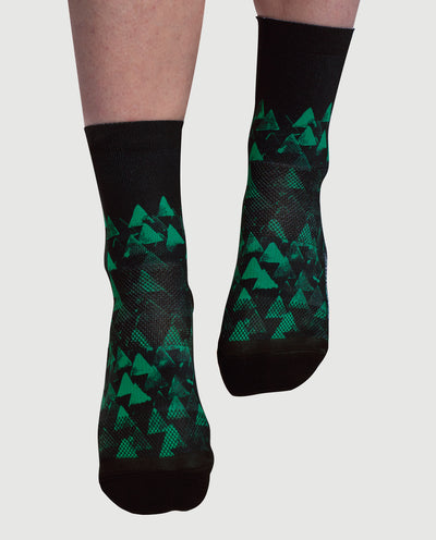 Peak Black Mint Socks