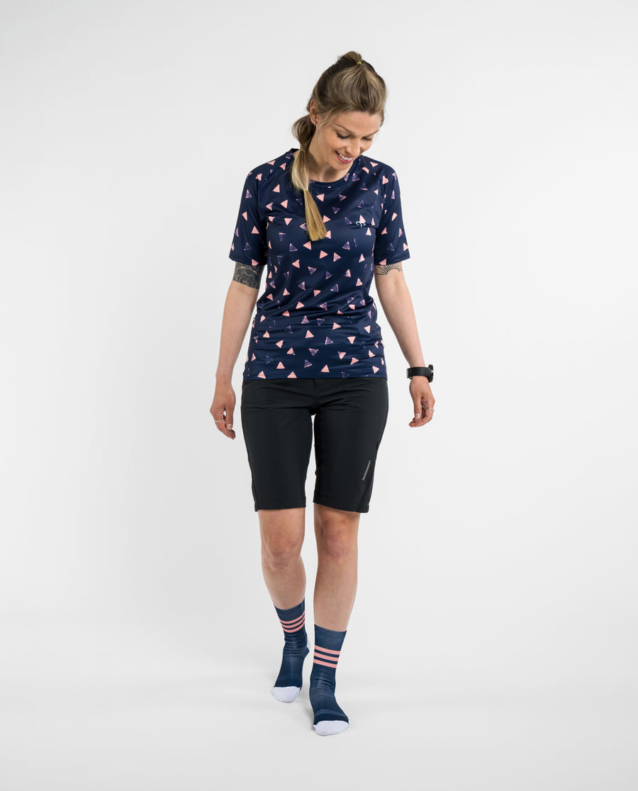 Peak Navy Trail Signature SS Jersey