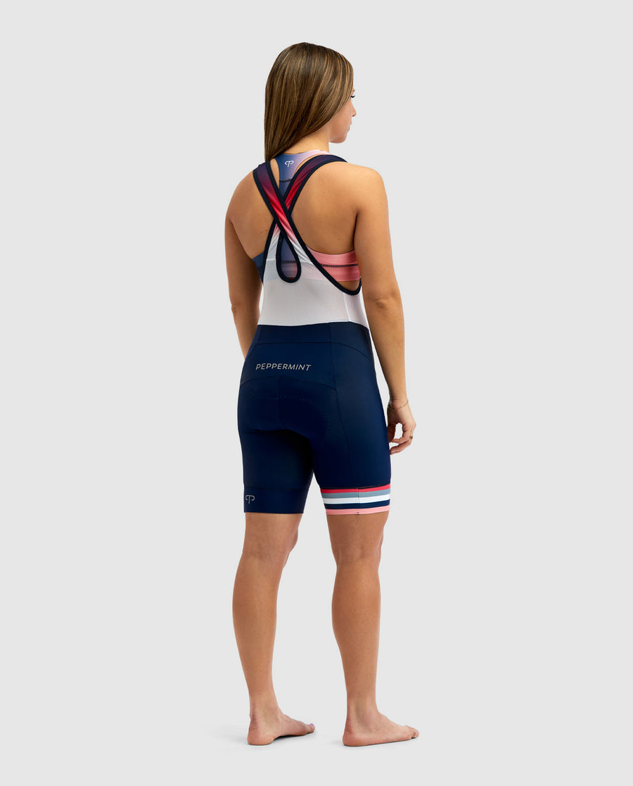 Mood Navy Shine On Cycling Bib