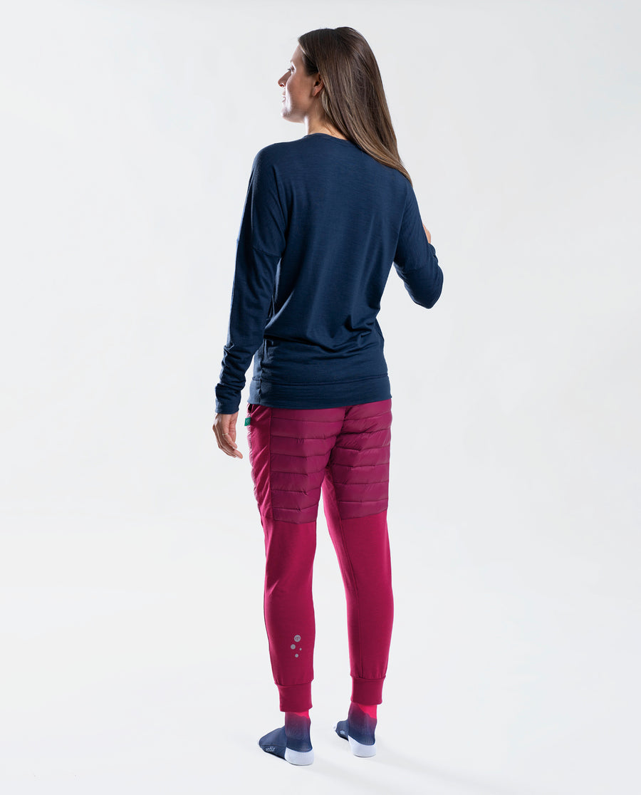 Merino LS Base Layer Navy