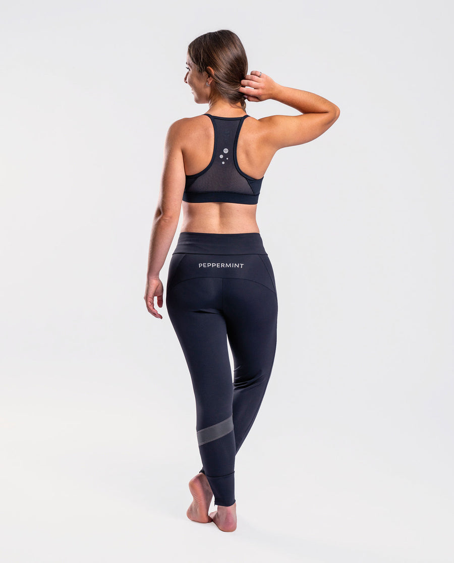 Mellow Black Sports Bra