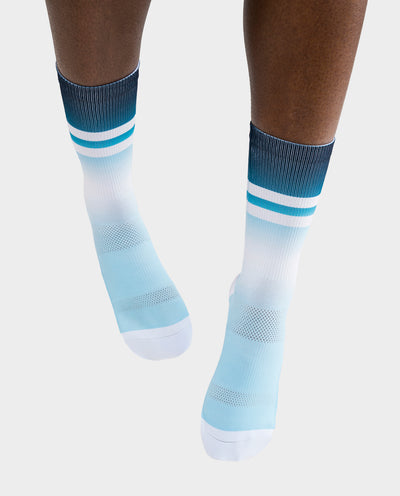 Stripes Ocean Signature Socks