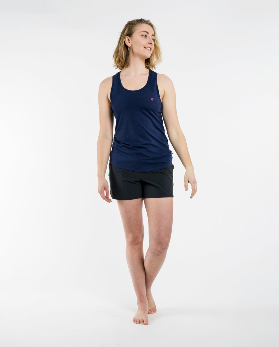 Navy Mellow Tank
