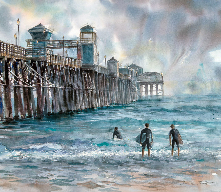 Oceanside Pier, Oceanside California/SOLD