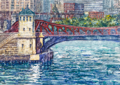 Chicago Bridge. SOLD