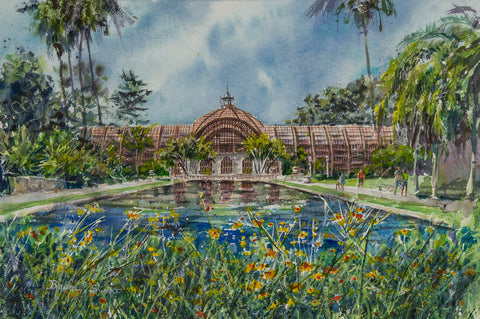 SOLD: Botanical Building in Balboa Park, San Diego