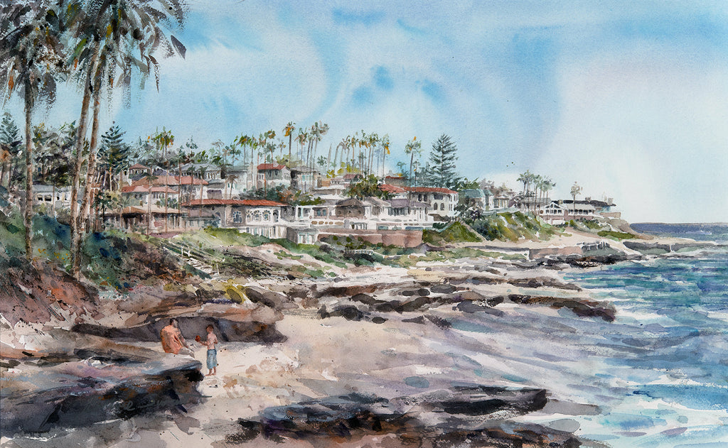 Available: Wind and Sea Beach, La Jolla