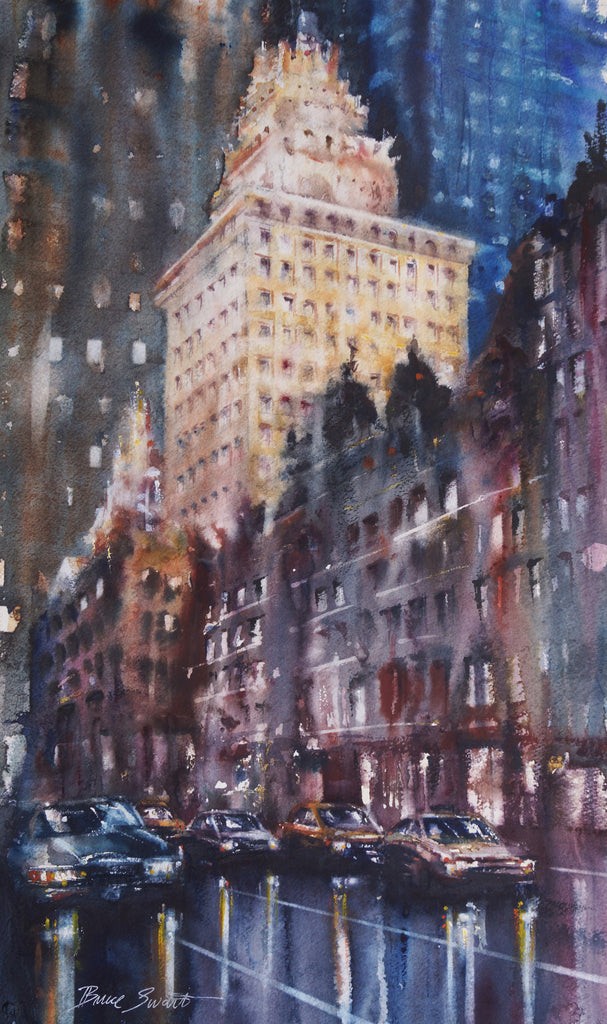 SOLD: Night, New York City