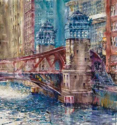 Chicago River Bridge/SOLD