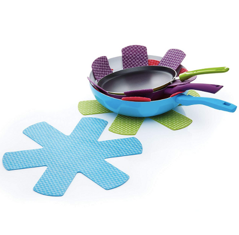Colourworks Brights Pan Protectors - Set of 4
