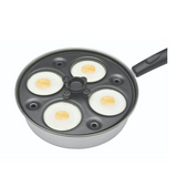 Kitchencraft Four Hole Egg Poacher - Cook N Dine