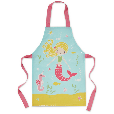 Kid's Mermaid PVC Apron