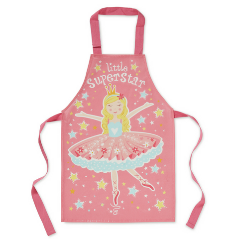 Kid's Little Superstar PVC Apron
