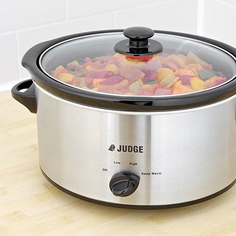 Judge 5.5ltr Slow Cooker