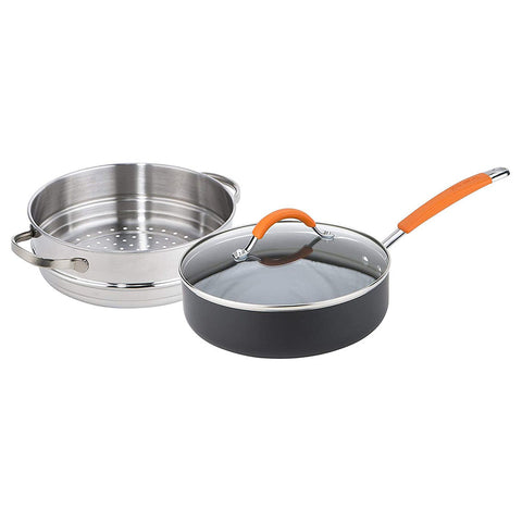 Joe Wicks Easy Release Non-Stick 24cm Multipan 2.4L Saute & Steamer