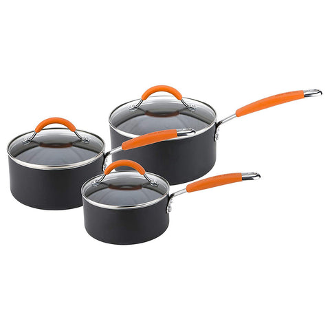 Joe Wicks Easy Release Aluminium Non-Stick - 3 Piece Saucepan