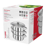 Judge 3 Piece 20cm Steamer With Glass Lid - Cook N Dine