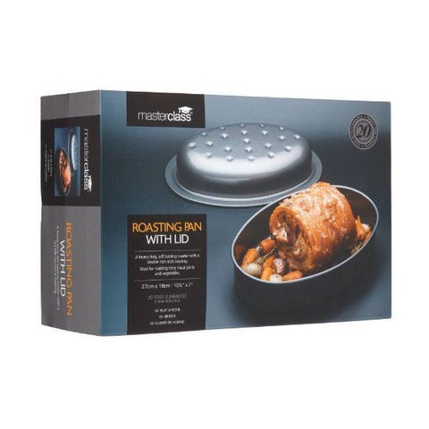 MasterClass Roasting Pan With Lid
