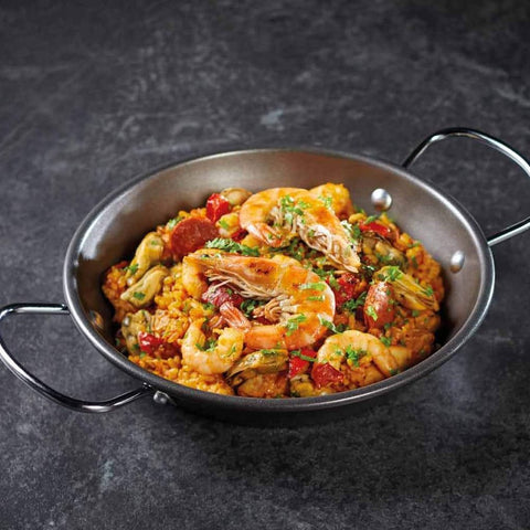 World of Flavours 22cm Paella Pan