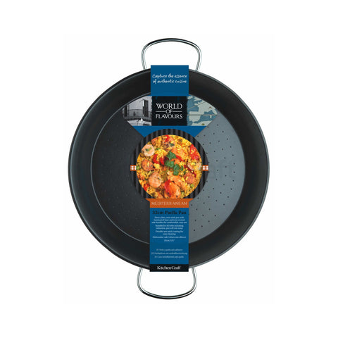 World of Flavours 32cm Paella Pan