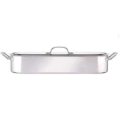 KitchenCraft 60cm Stainless Steel Fish Poacher