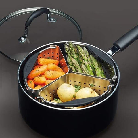 MasterClass Stainless Steel Saucepan Dividers