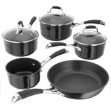 Stellar 3000 5 Piece Pan Set - Black - Cook N Dine