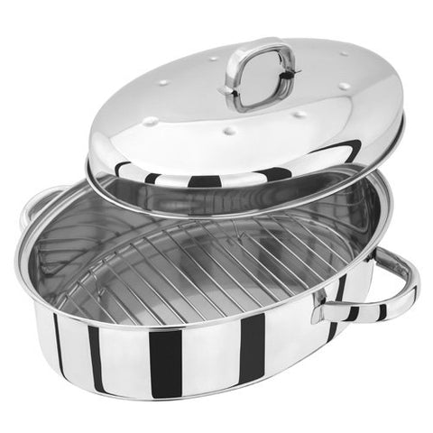 Judge High Oval Roaster 39cm