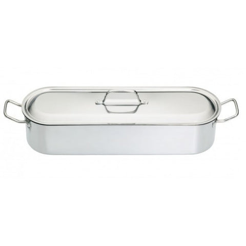 KitchenCraft 45cm Stainless Steel Fish Poacher