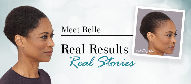 How Toppik Enhanced Belle's Natural Hair & Confidence