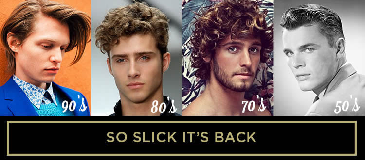 Men's Hairstyles Through the Decades